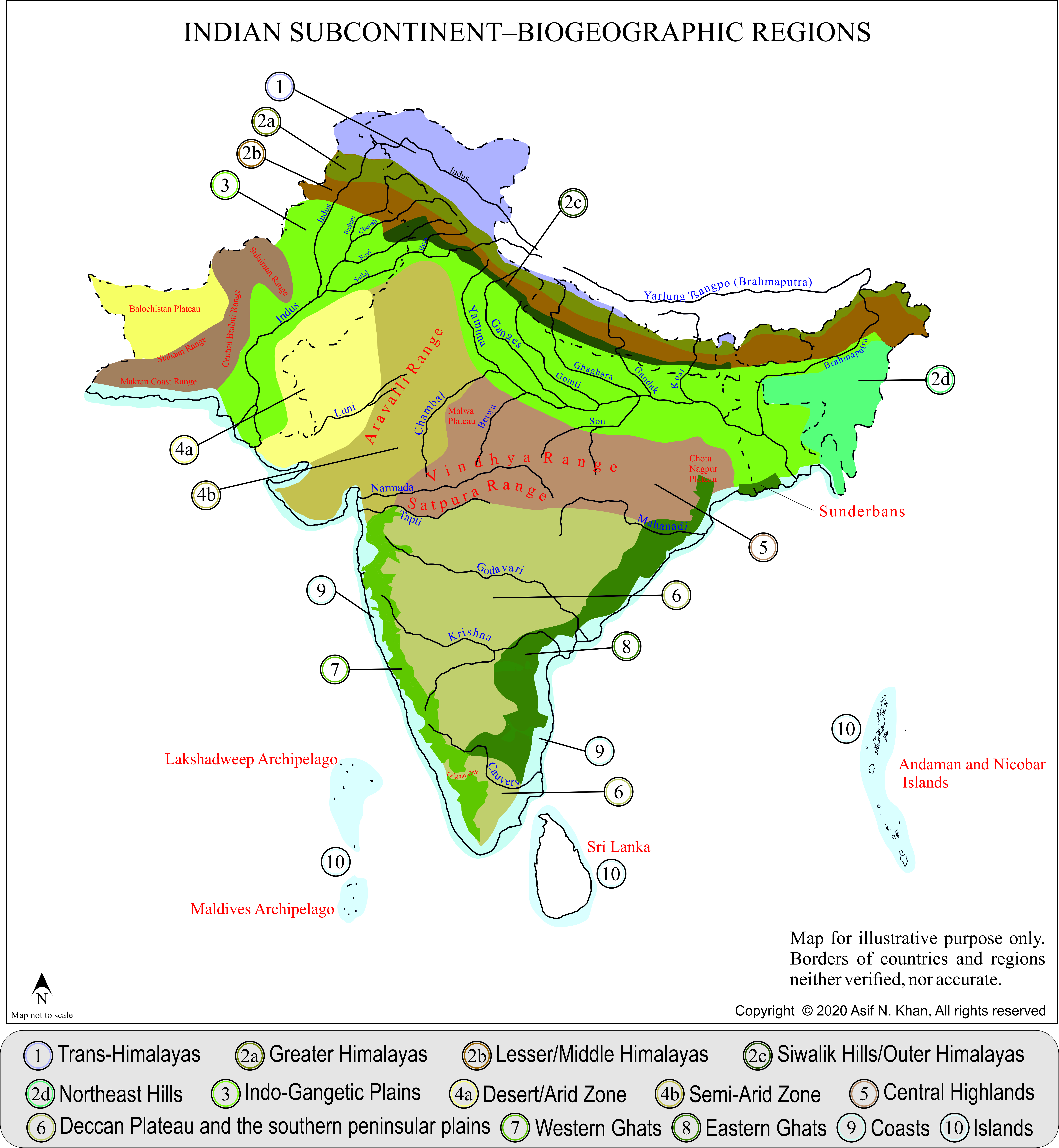 Image of: Biogeographic Classification Of India Wikipedia