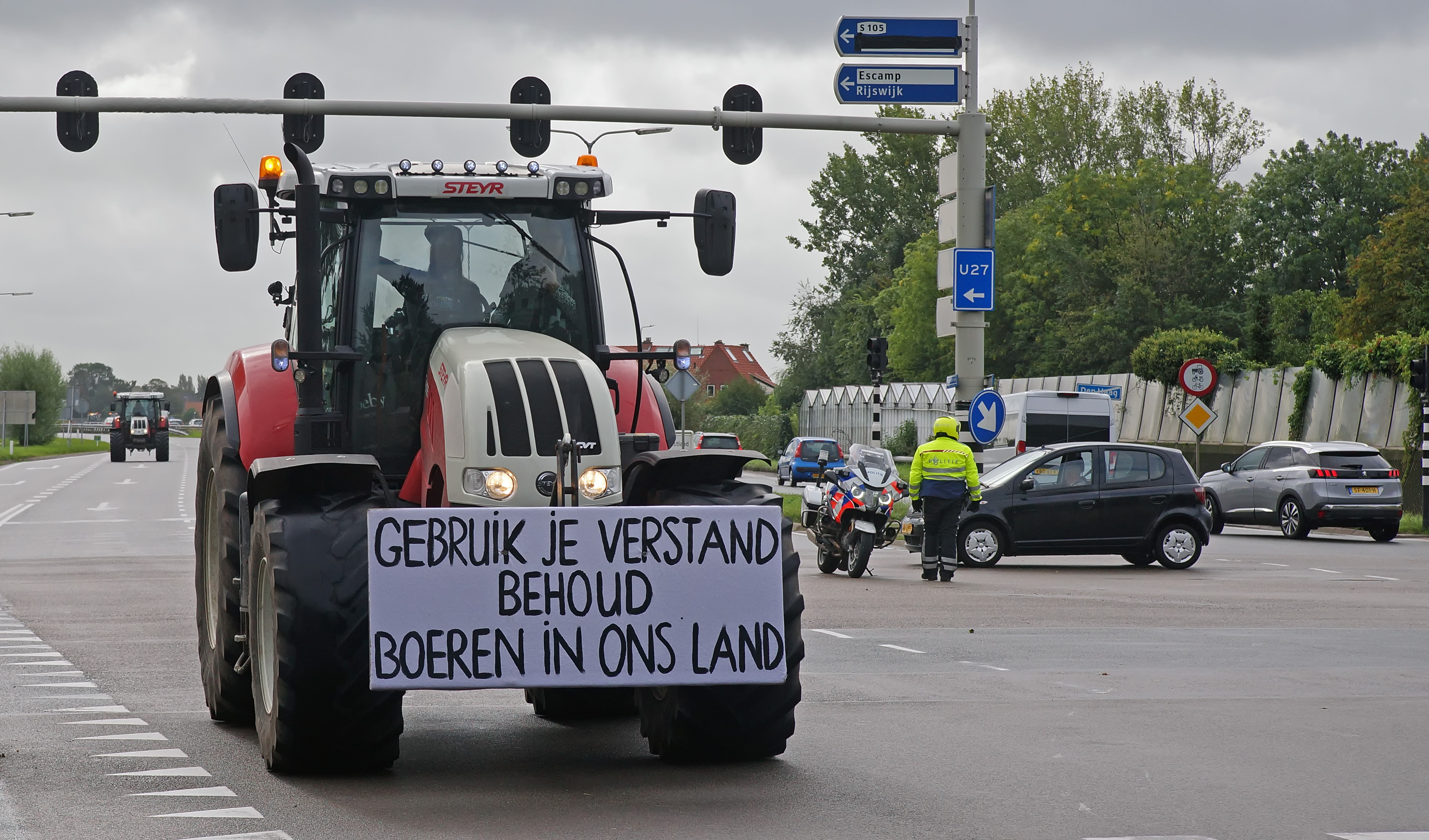 Image result for dutch farmers protest
