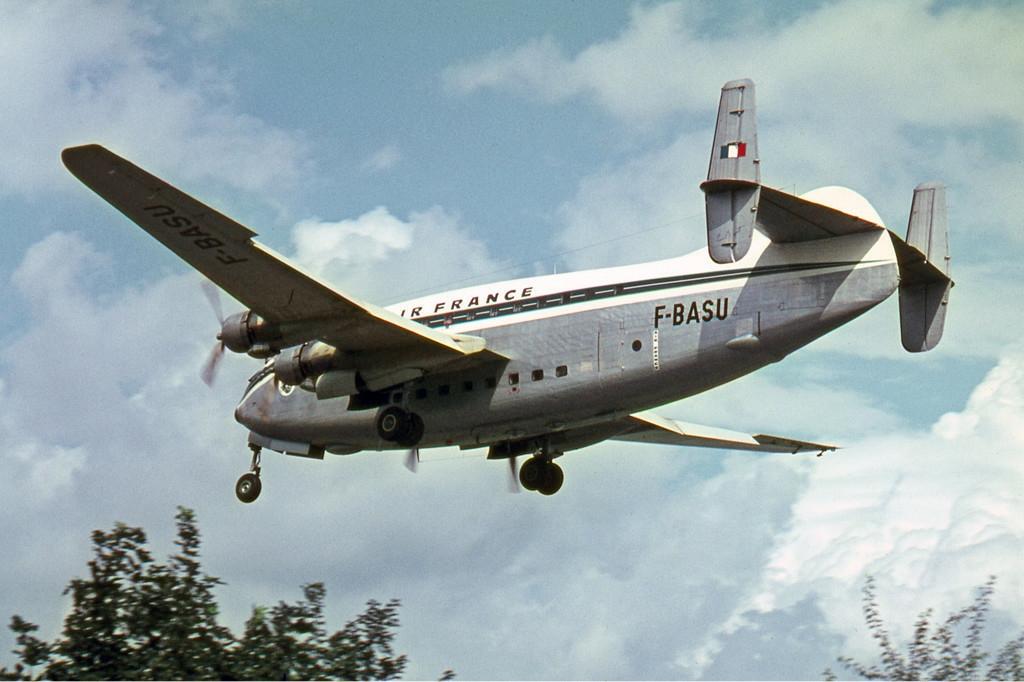 Description Breguet Br.763 Deux Ponts, F-BASU, Air France Manteufel-1 ...