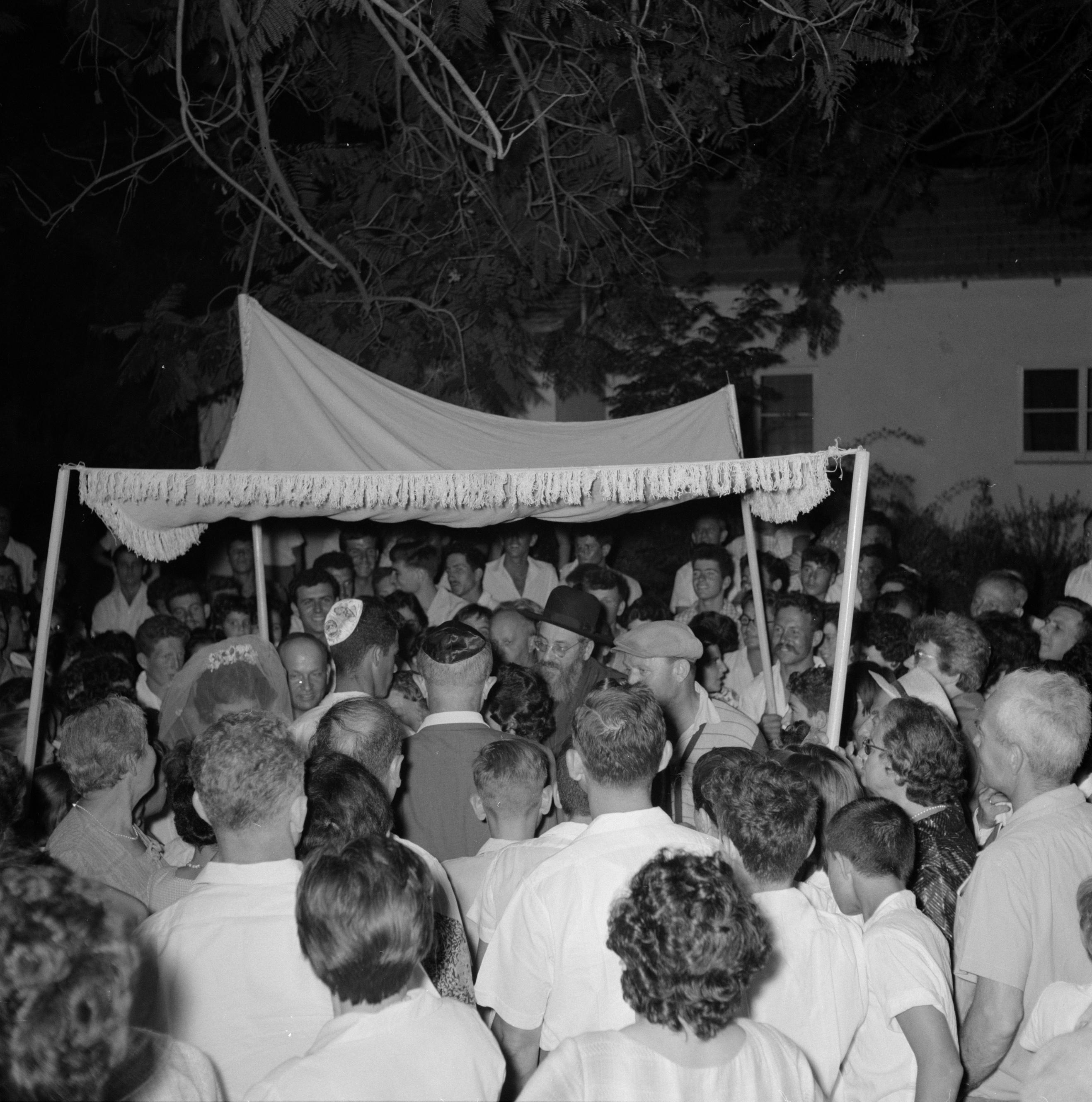 File:Bruiloft in de kibboets Yad Mordechai bij Asjkelon in