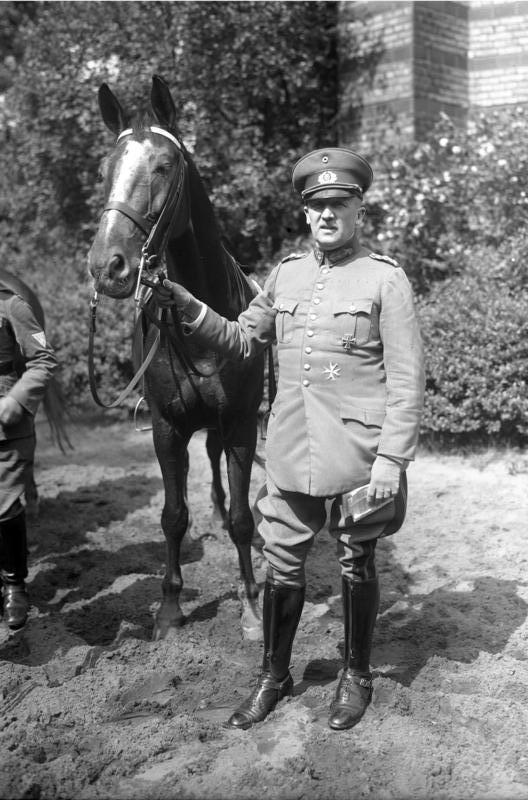 Schleicher im Juni 1932