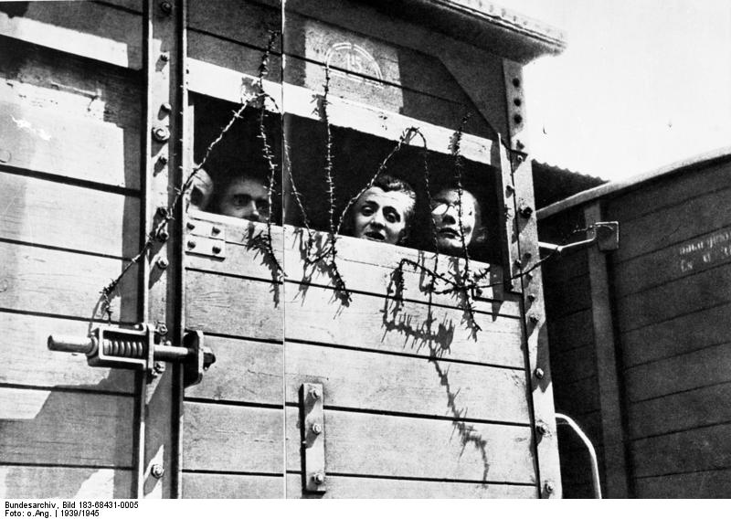 Datei:Bundesarchiv Bild 183-68431-0005, Polen, Konzentrationslager, Deportation.jpg