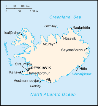 Fichier:CIA Factbook map of Iceland.png