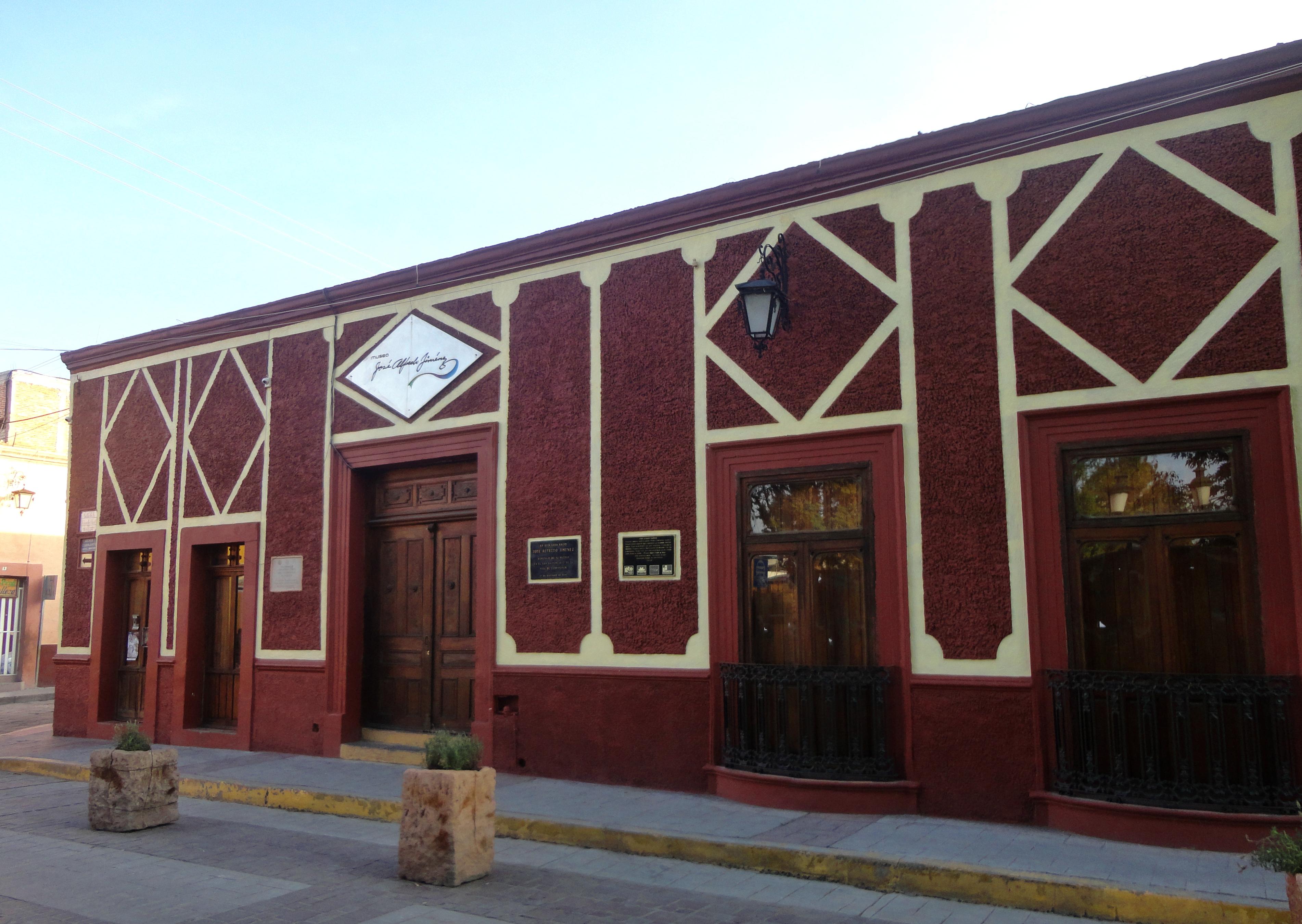 Casa de José Alfredo Jiménez en Dolores Hidalgo.