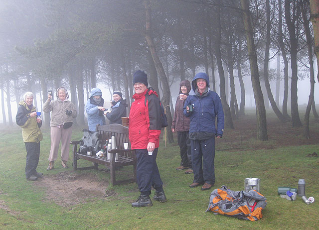 Celebration at the summit of May Hill - geograph.org.uk - 1621778
