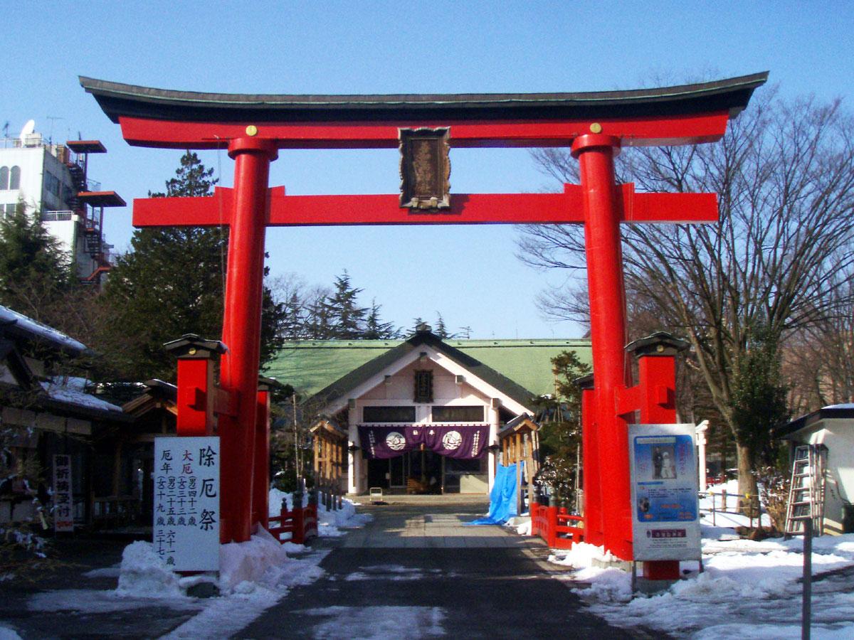 善知鳥神社 - Wikipedia