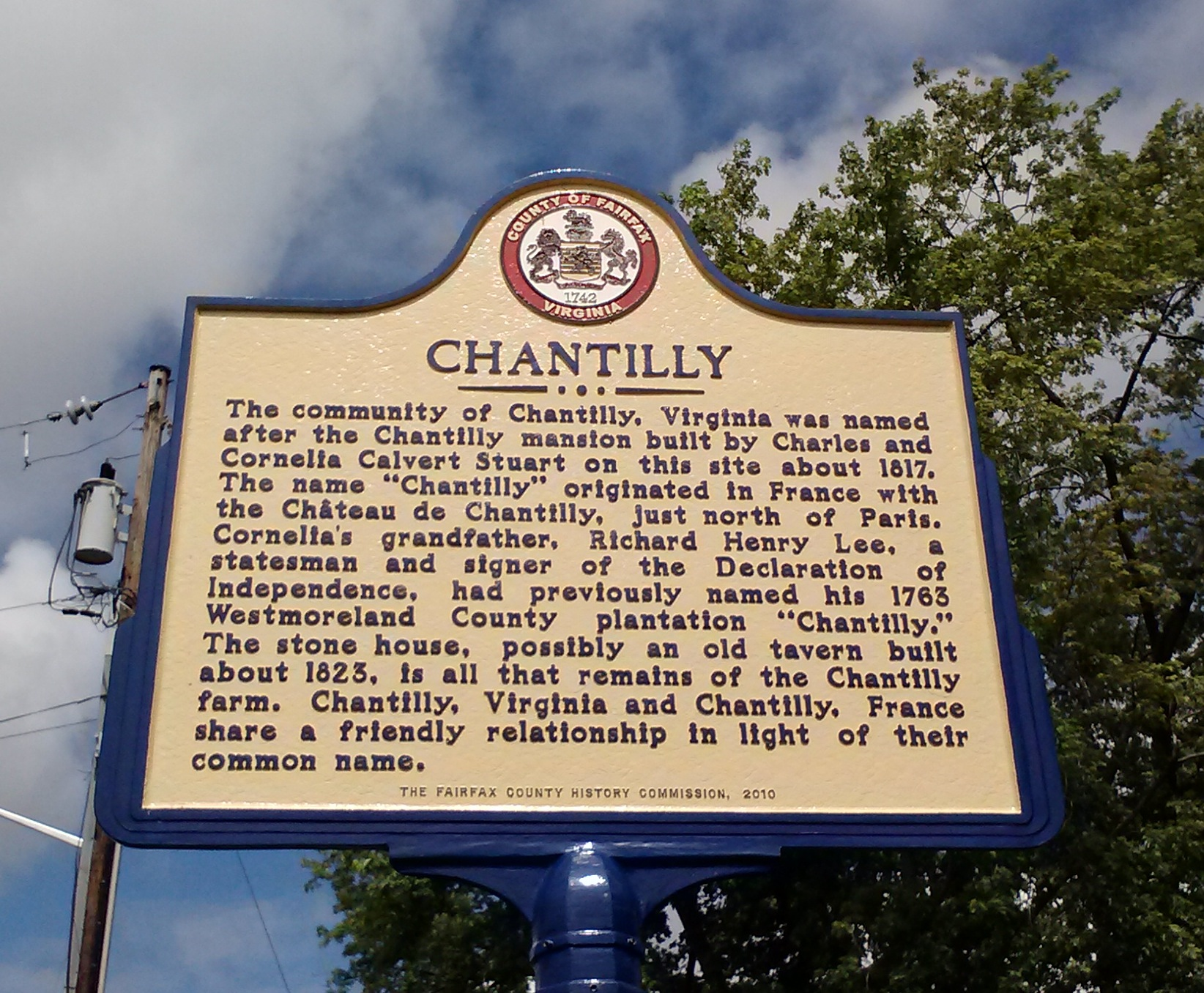 Chantilly (Virginia) #