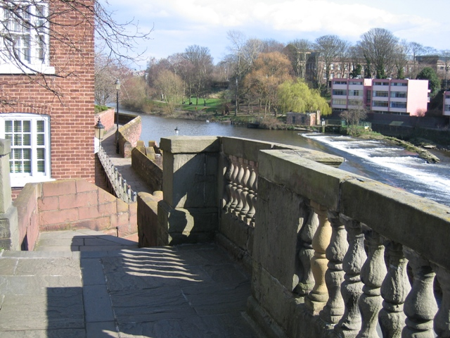 Chester's City Walls - Bridgegate to Eastgate ^1 - geograph.org.uk - 371827