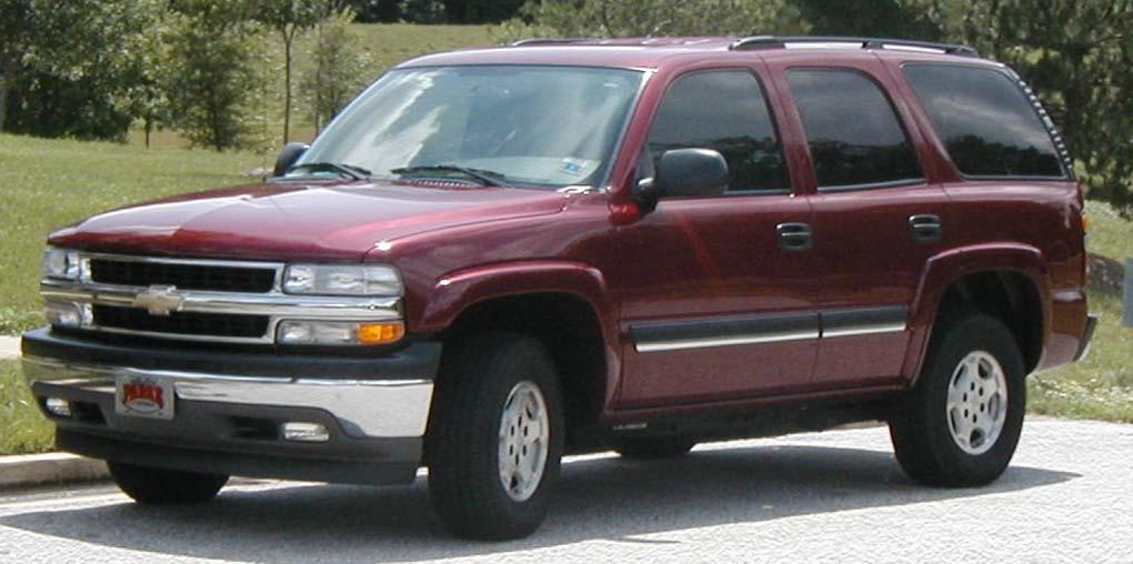 Chevy Tahoe on 1990 Chevy Lumina Van