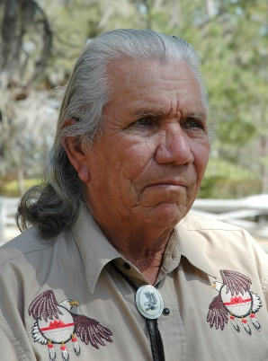 Gilmer Bennett, Chief of the Talimali Band of Apalachee Chief-59.jpg