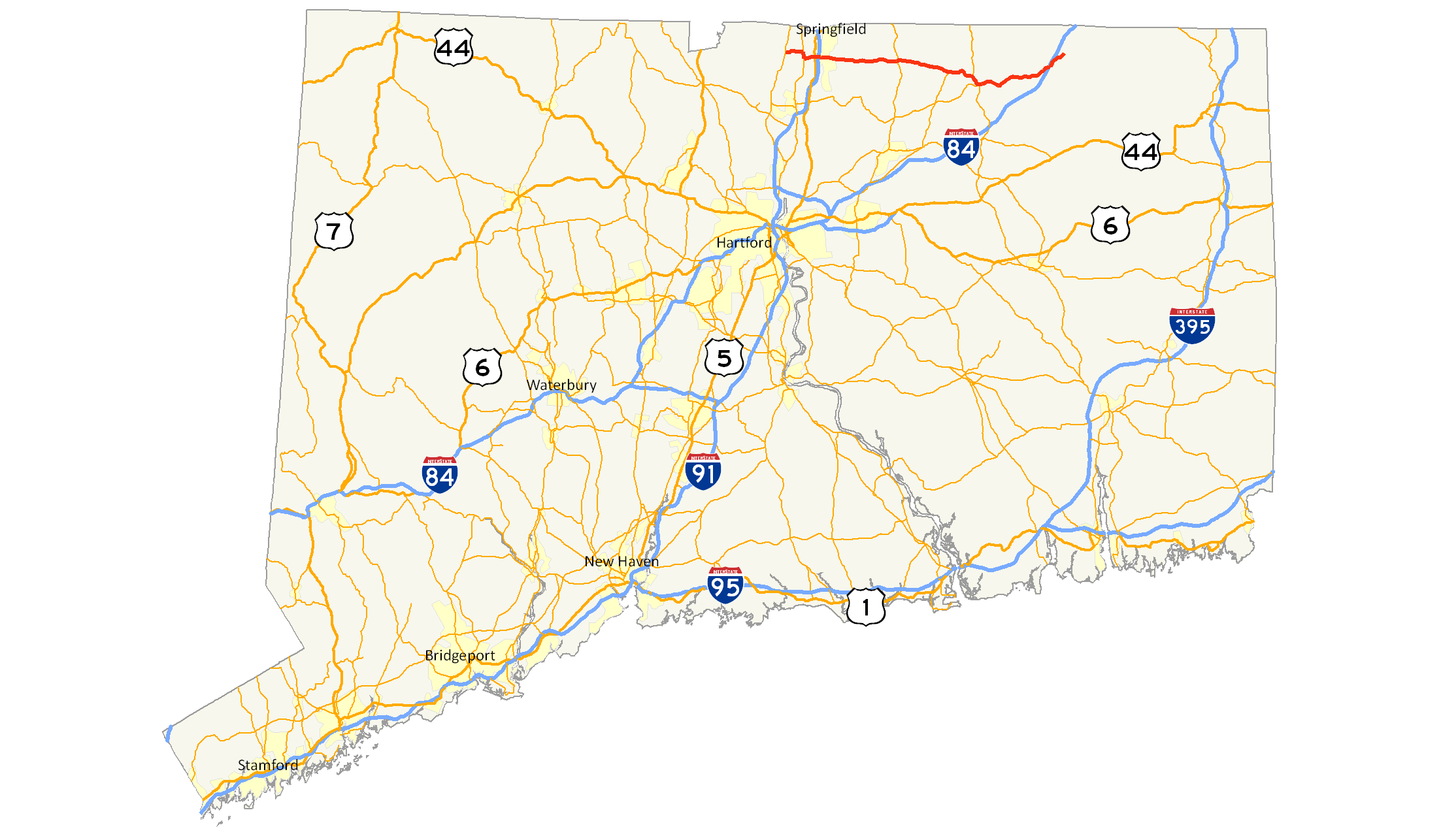 FileConnecticut Route Mappng Wikimedia Commons - Ct road map