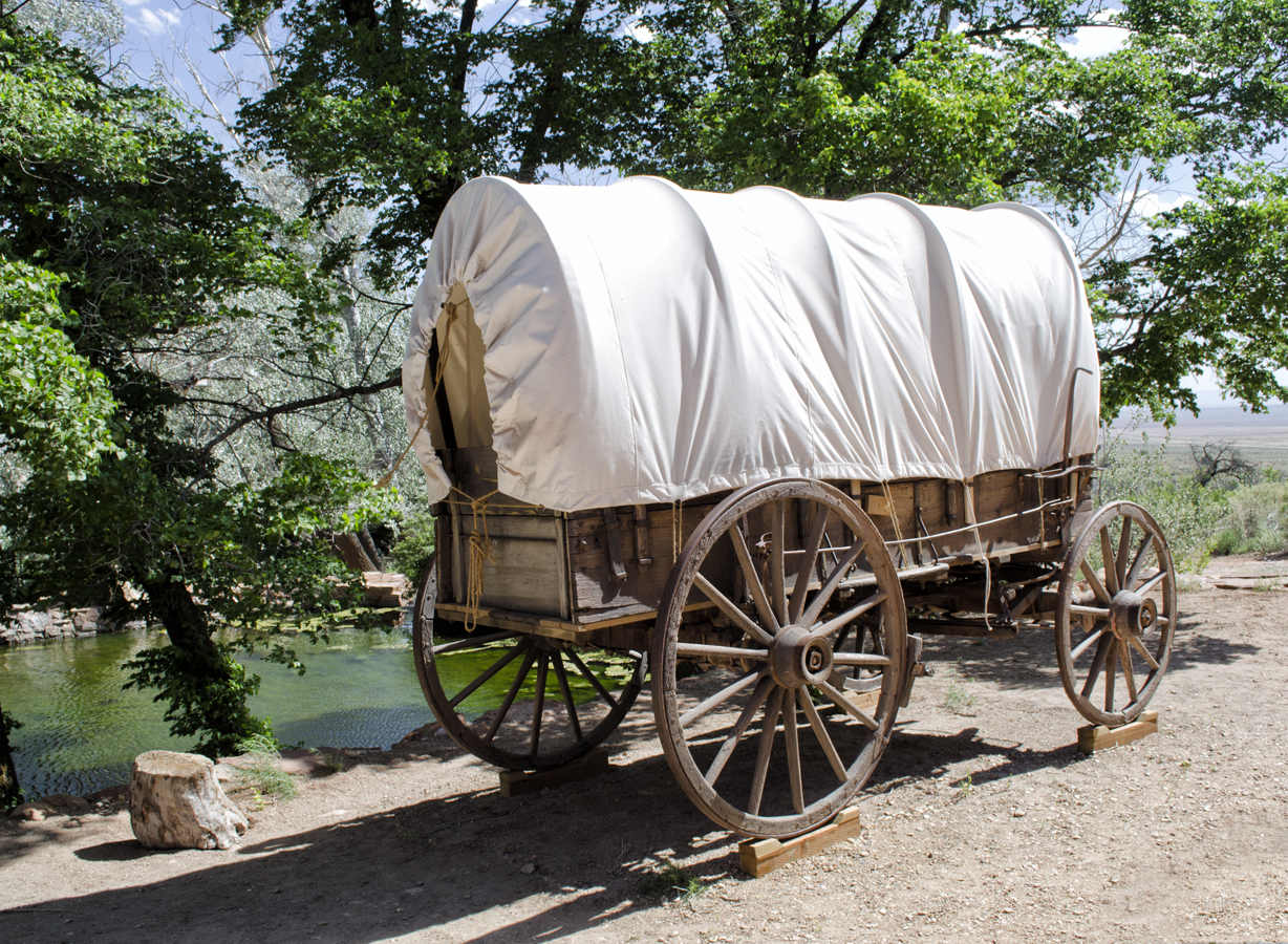 File:Covered_Wagon_(7515047658) on Images From The Westward Expansion