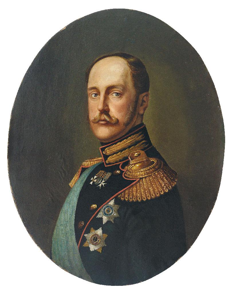 Retrato del Zar Nicolás I.