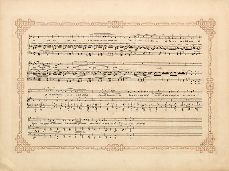 Filedüsseldorfer Lieder Album Arnz Co 1851 S 12