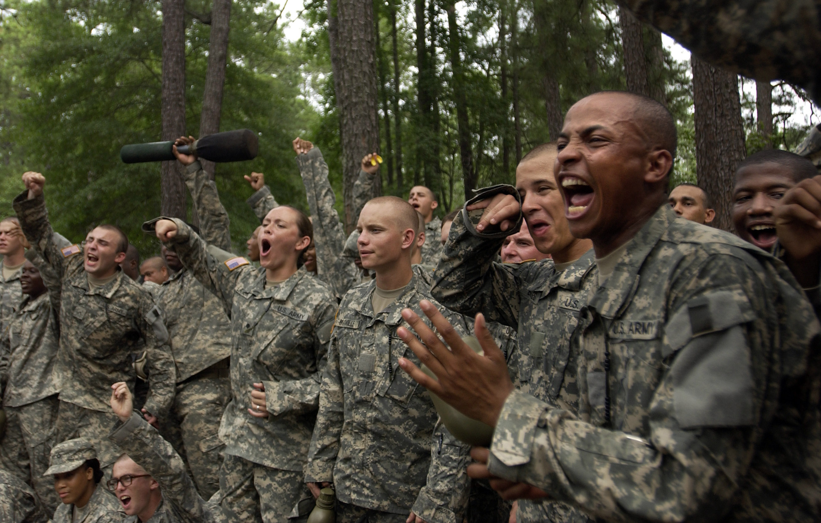 Army Basic Training And Ait Description For Resume