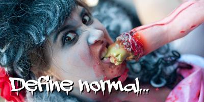 Define normal - zombie.jpg