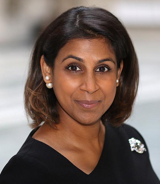Dileeni Daniel-Selvaratnam British territorial governor