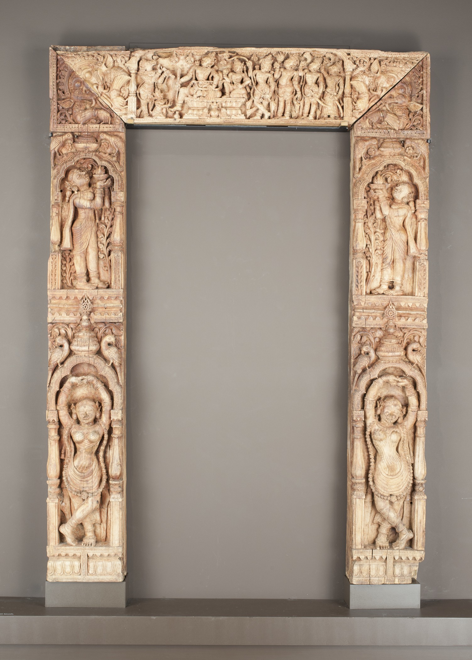 File:Door Frame with the Coronation of Rama LACMA AC1994.15.1.jpg ...