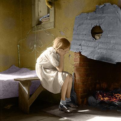 Resettled Farm Child, 1935.  Image by Dorothea Lange