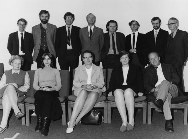 Economic history department, London School of Economics (1971) Economic History Department, 1971 (3925741729).jpg