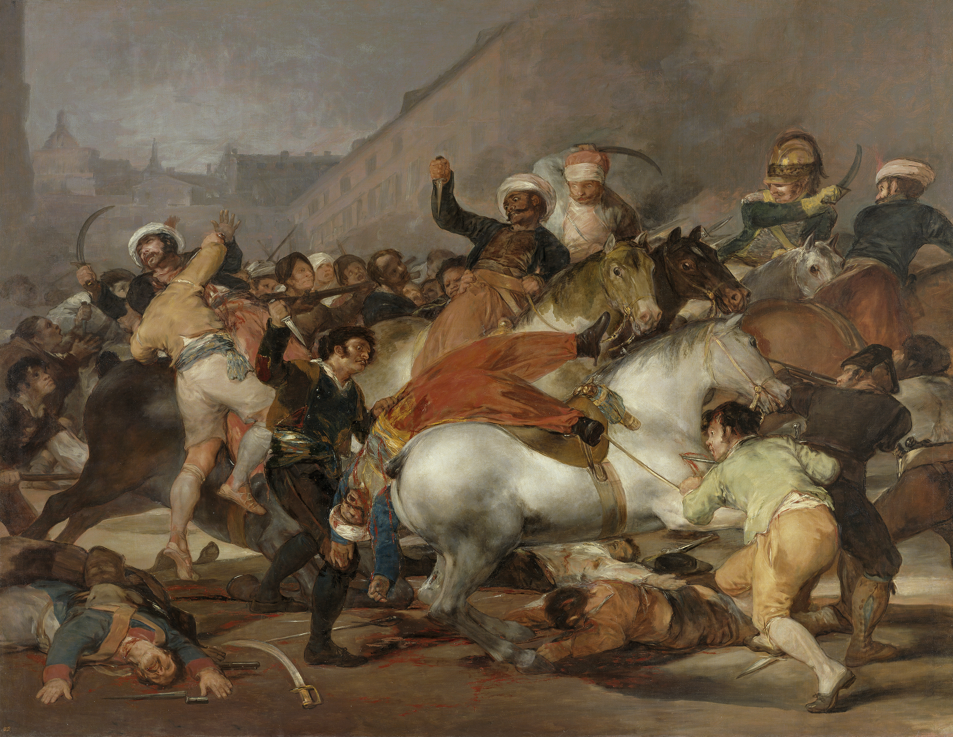 The Second Of May Wikipedia - Francisco goya paintings