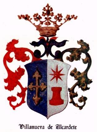 Resultado de imagen de Villanueva de Alcardete escudo