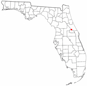Location of Deltona, Florida