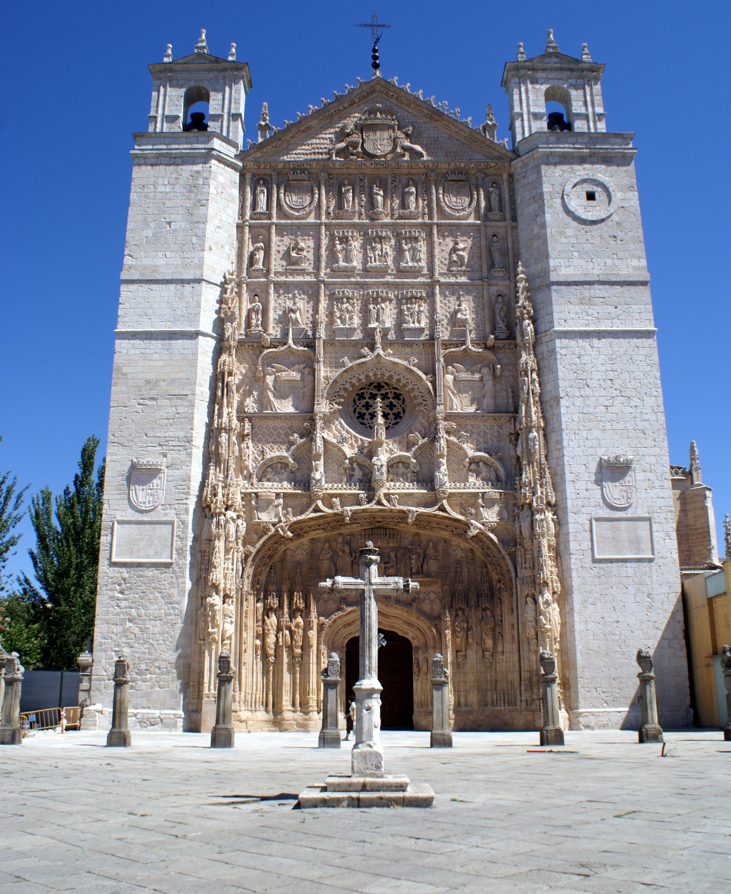 Valladolid Spain  city photo : ... iglesia conventual de San Pablo Valladolid Wikimedia Commons