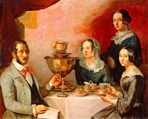 Family portrait by T.Myagkov