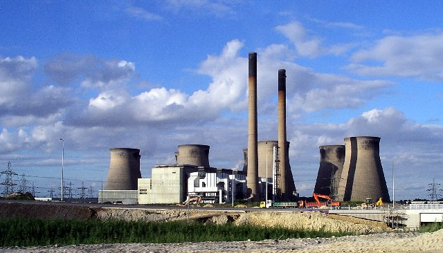 Ferrybridge power stations