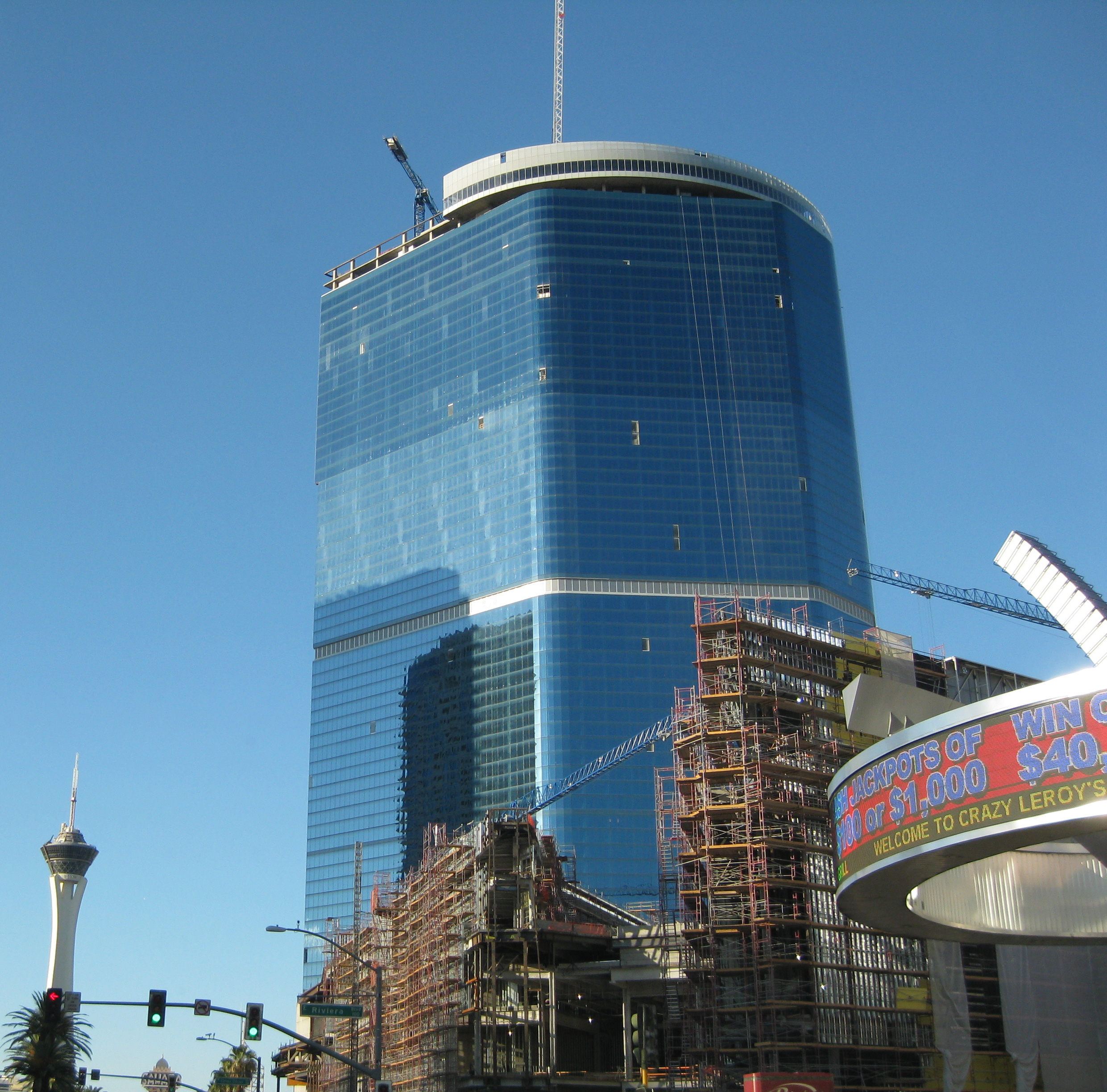 Las vegas strip new construction