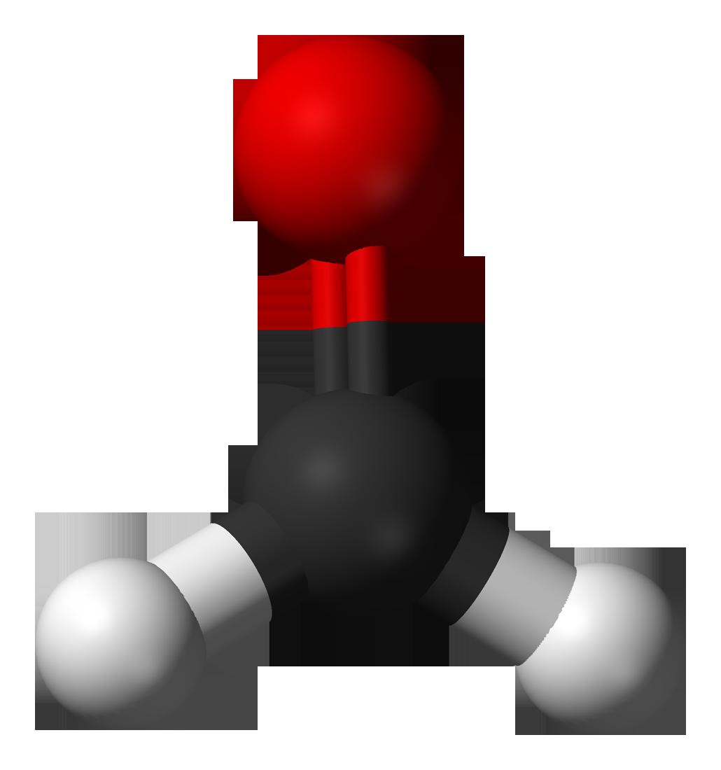 Description Formaldehyde-3D-balls-A pngFormaldehyde
