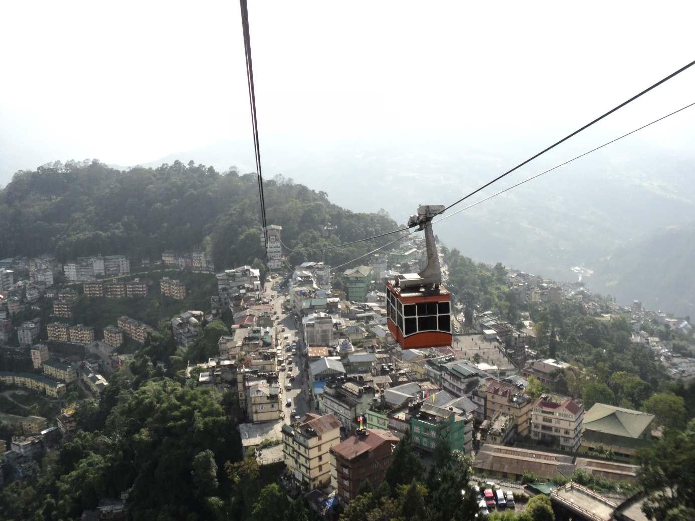 Gangtok cable car
