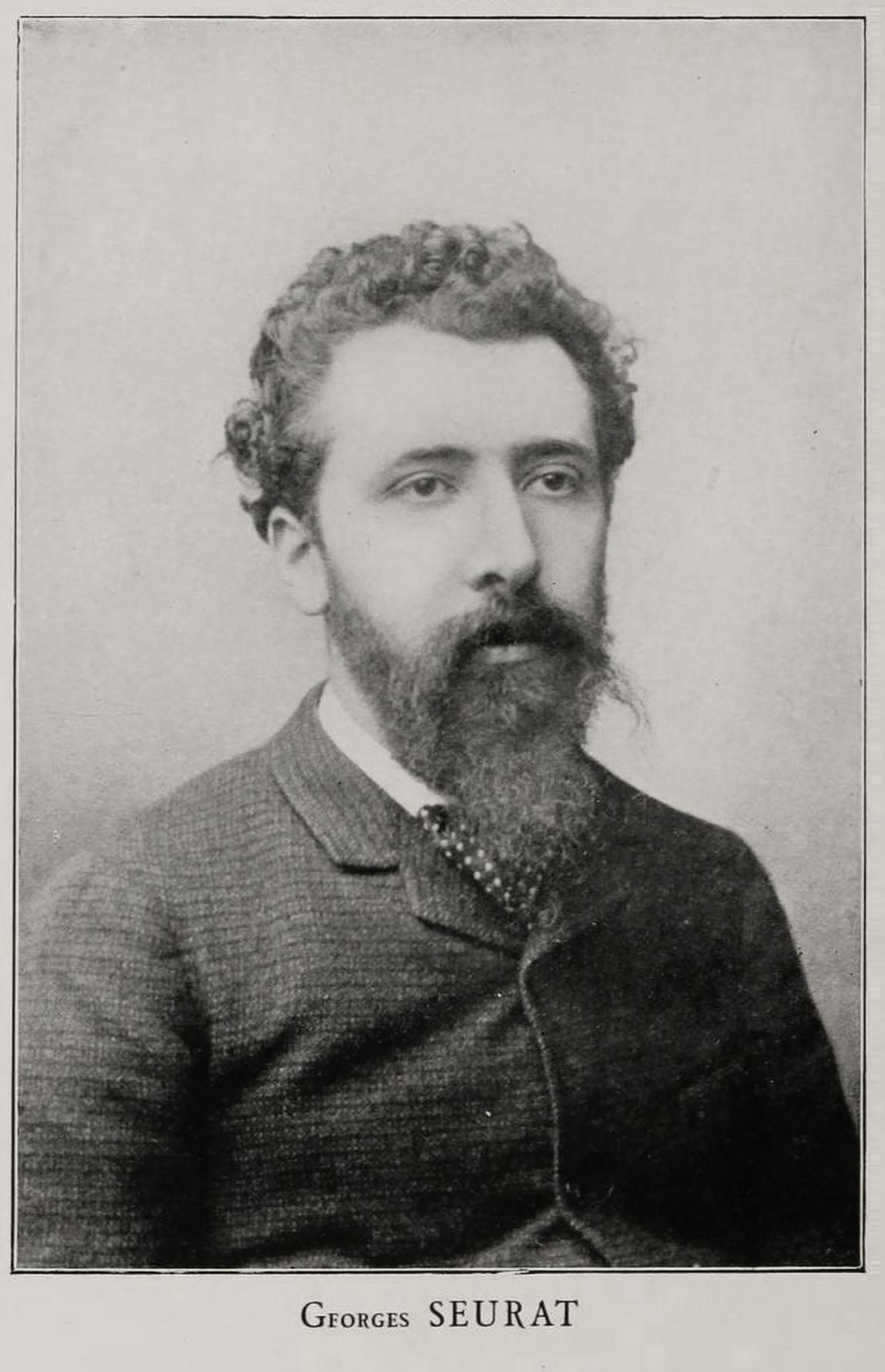 Portrait of Georges Seurat