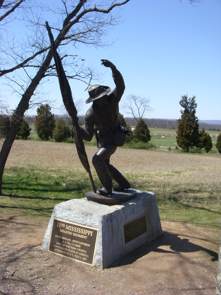 11th Mississippi Infantry Monument - Wikipedia