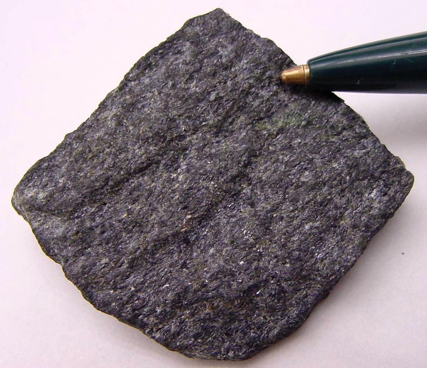 File:Glaucophane-lawsonite blueschist, Marin County CA.jpg ... |Glaucophane Mineral