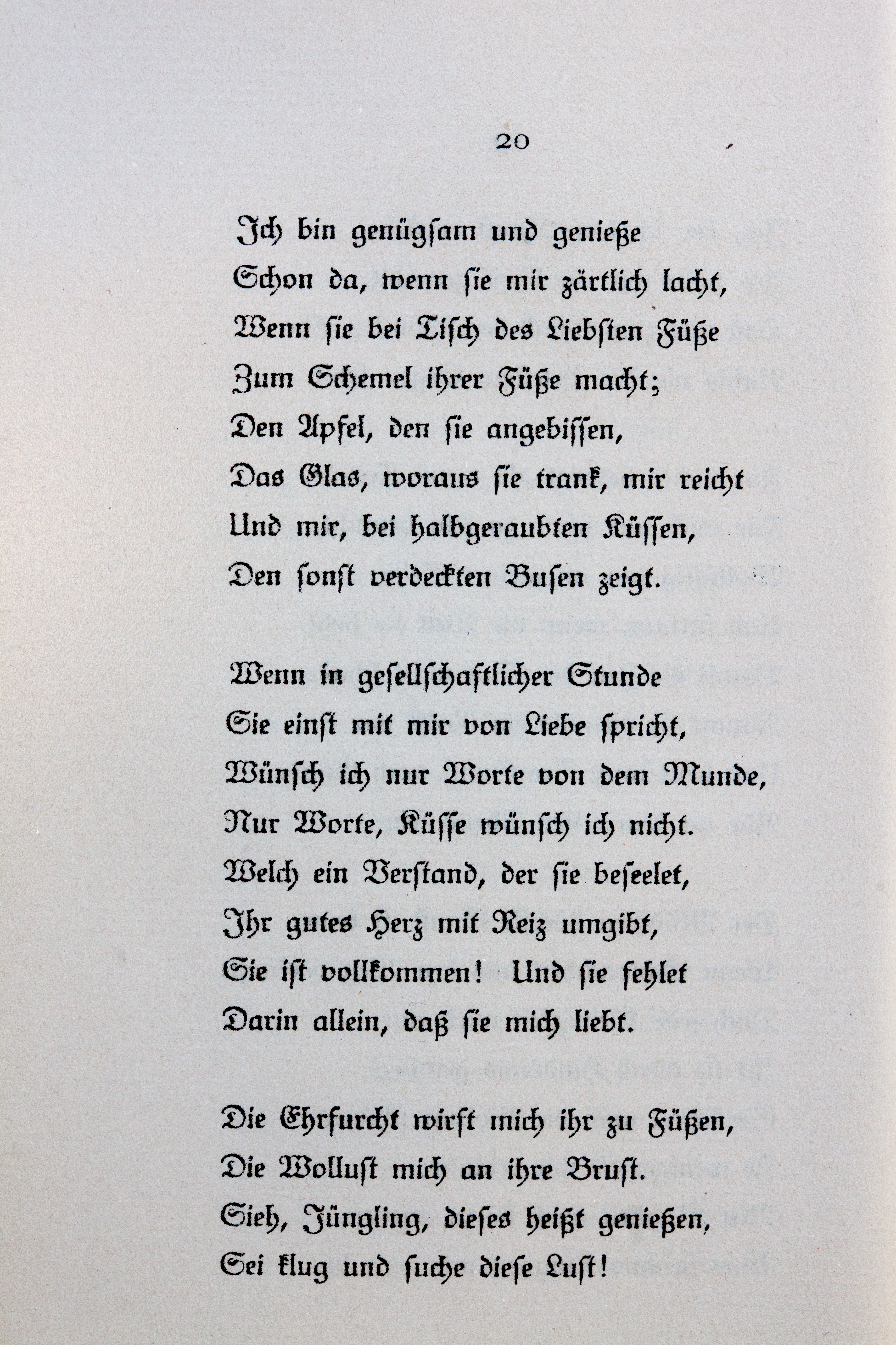 Archivogoethes Liebesgedichte Im Insel Verlag 020jpg
