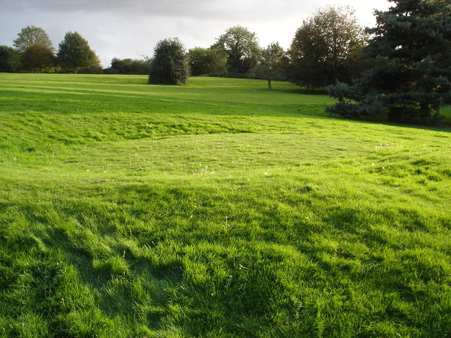 file green on former pitch and putt geograph org uk 299531 jpg