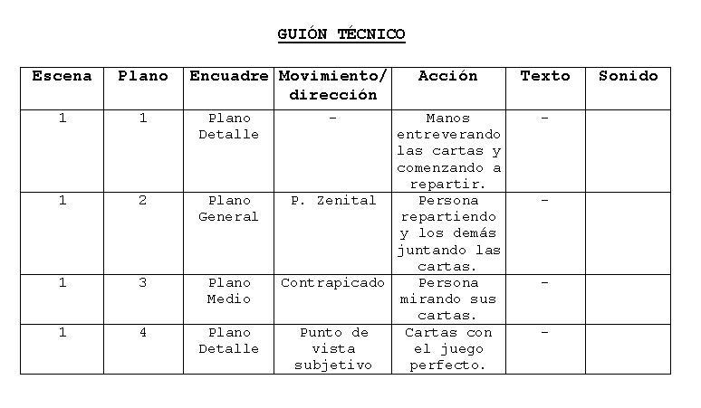 Archivo:Guión+técnico+truco.JPG - Wikipedia, la enciclopedia libre