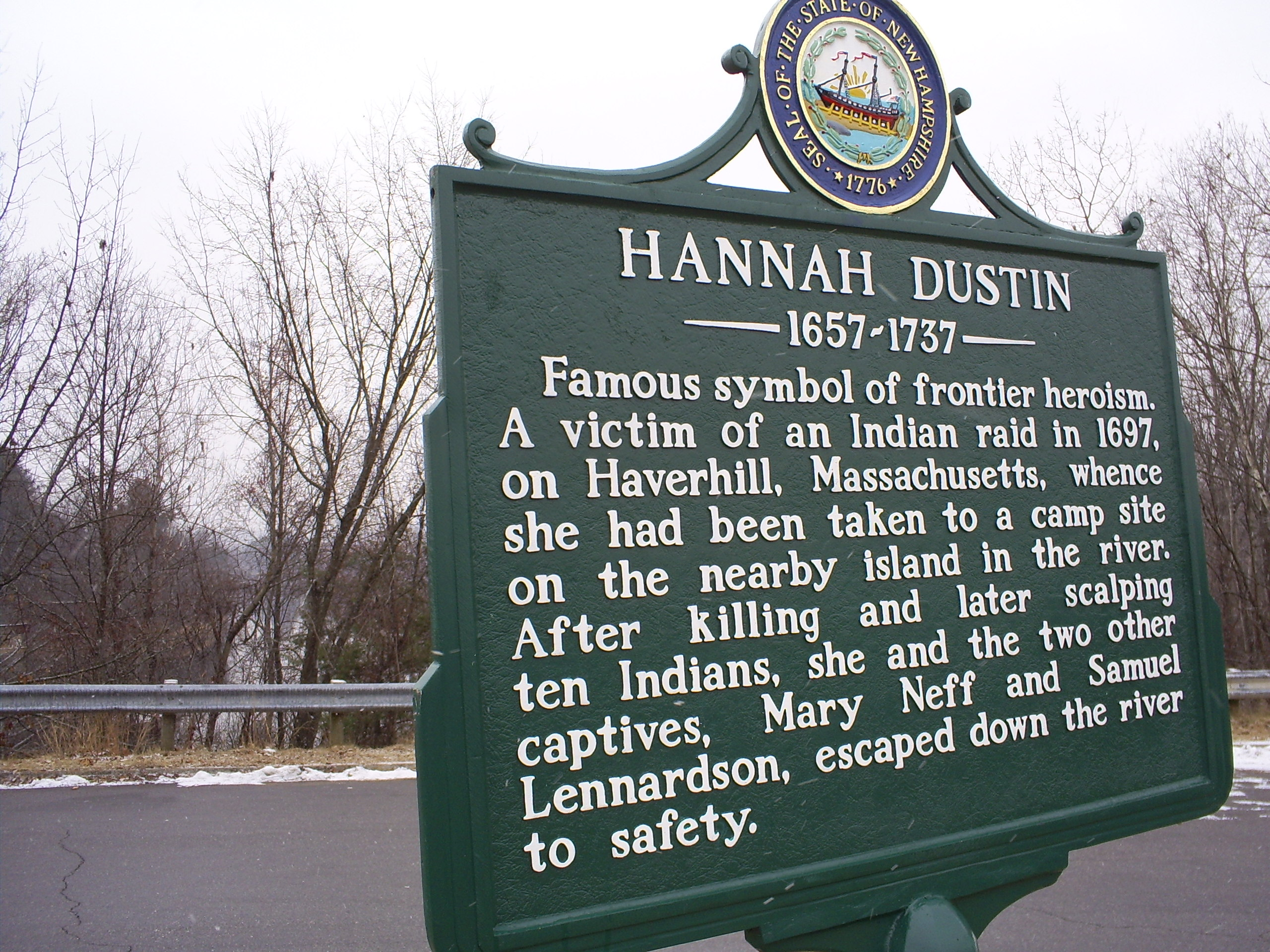 hannah duston biography writer united states of america