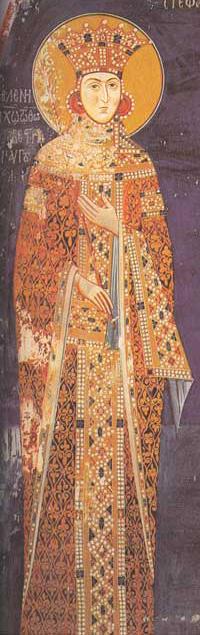 Helena (Jelena) av Bulgaria, fra klosteret Lesnovo i republikken Makedonia