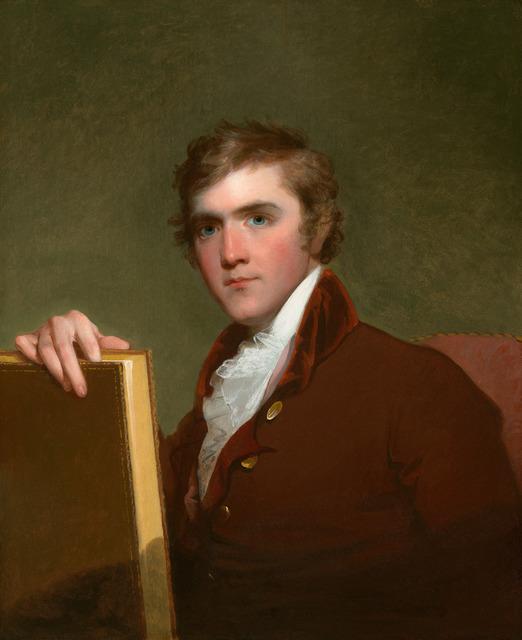Portrait of Binney at age 20, by [[Gilbert Stuart