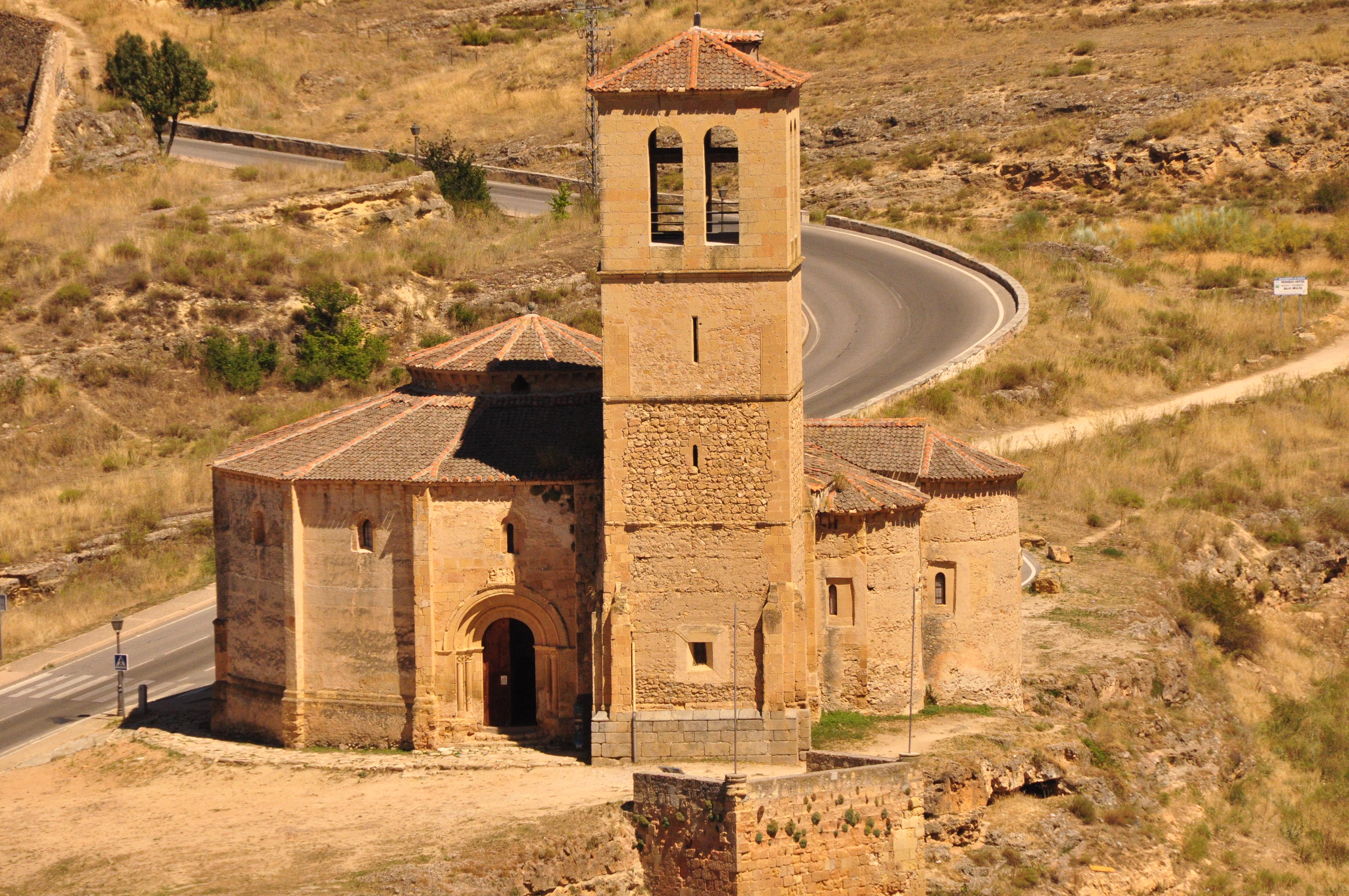 Resultat d'imatges de iglesia de la vera cruz segovia