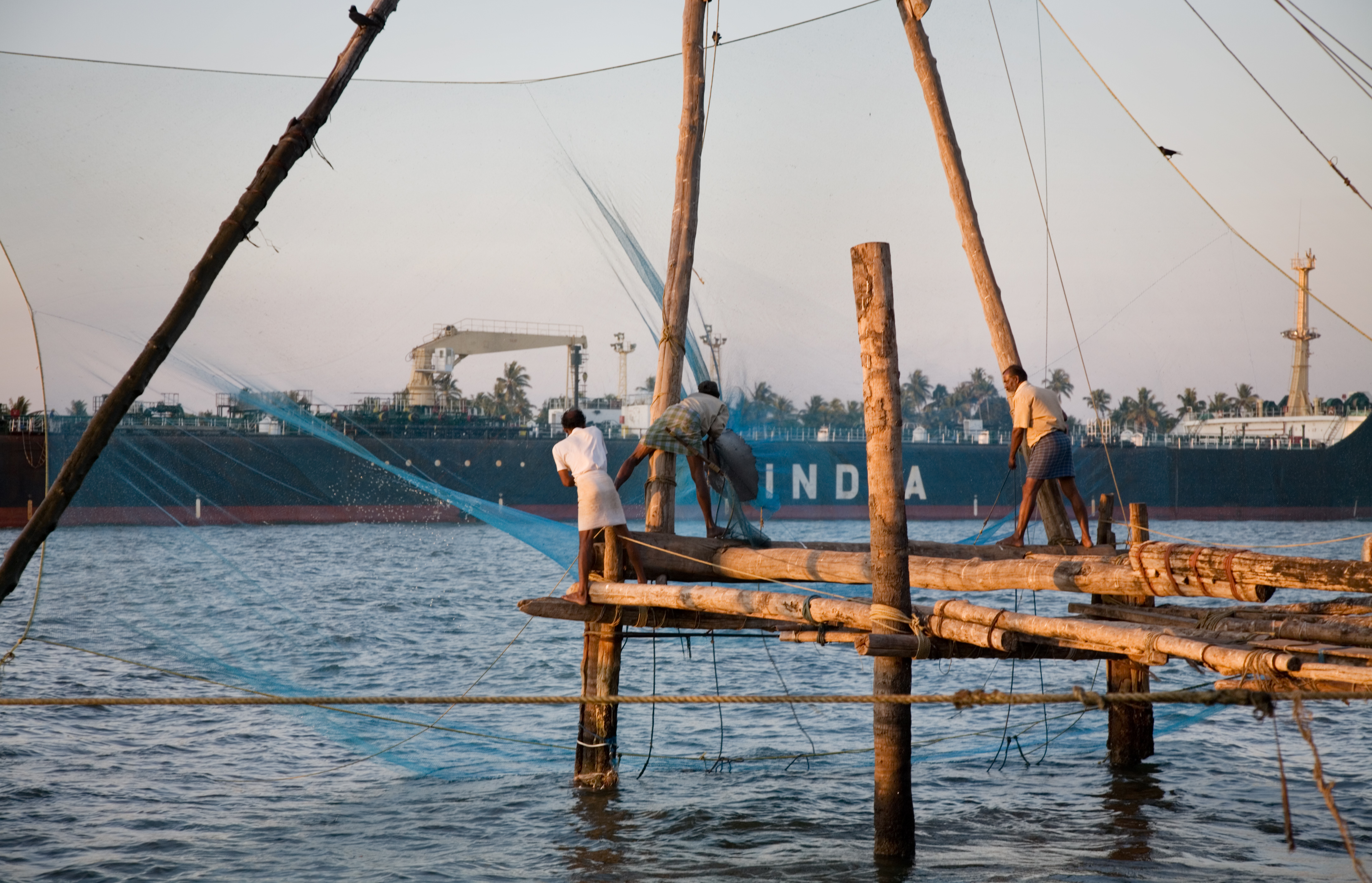 File india fishing nets wikimedia commons for Types of fishing nets