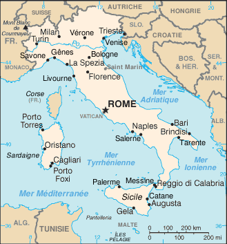 Carte De Litalie.File Italie Carte Png Wikimedia Commons