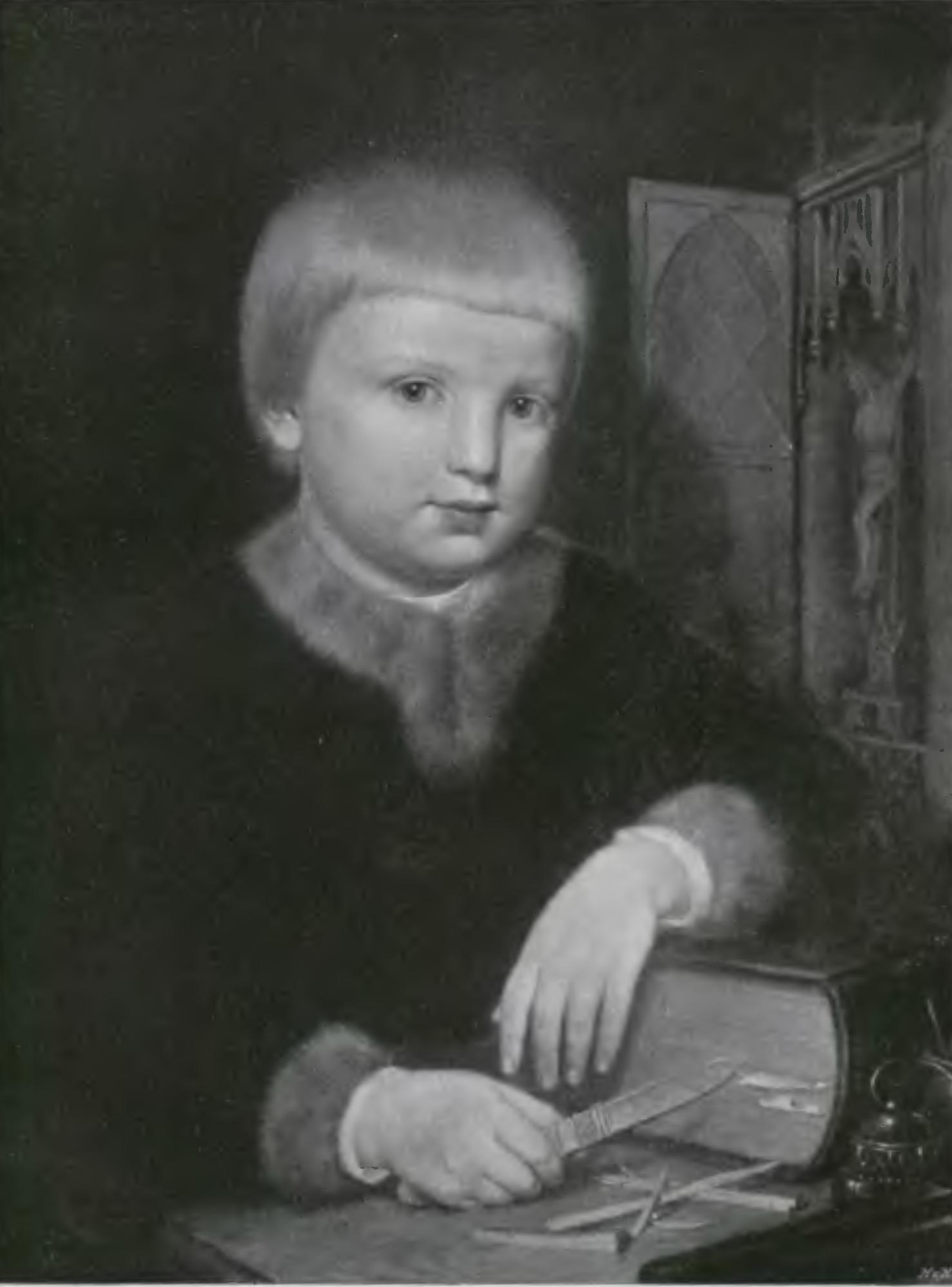 Filejan Matejko Wit Stwosz Jako Dziecko 1855png Wikimedia
