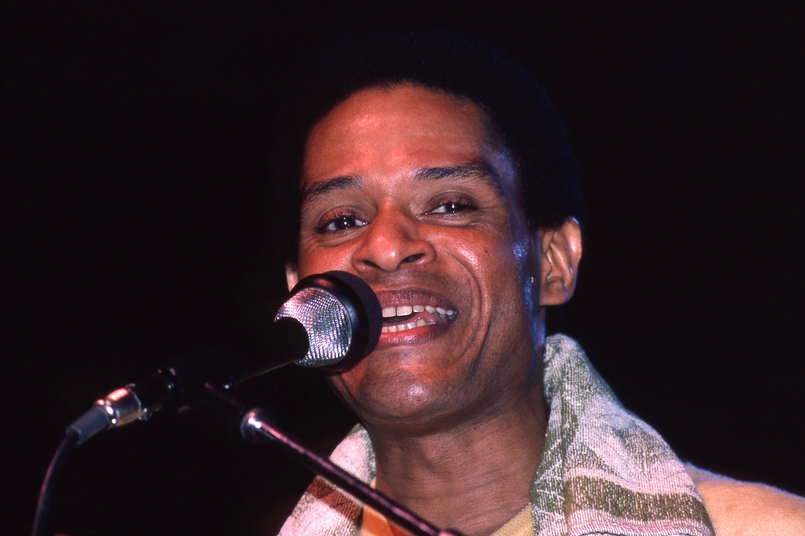 The 78-year old son of father (?) and mother(?) Al Jarreau in 2019 photo. Al Jarreau earned a  million dollar salary - leaving the net worth at 14 million in 2019