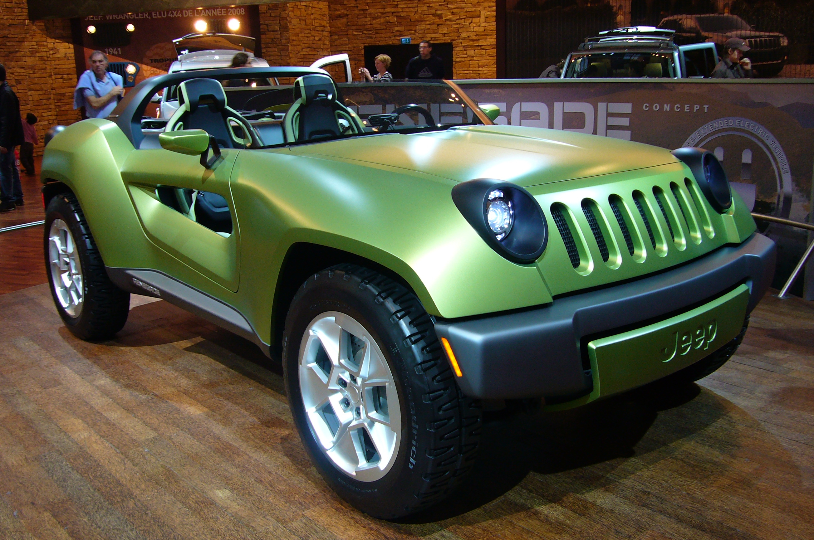 file jeep renegade concept front quarter jpg wikimedia commons. Black Bedroom Furniture Sets. Home Design Ideas