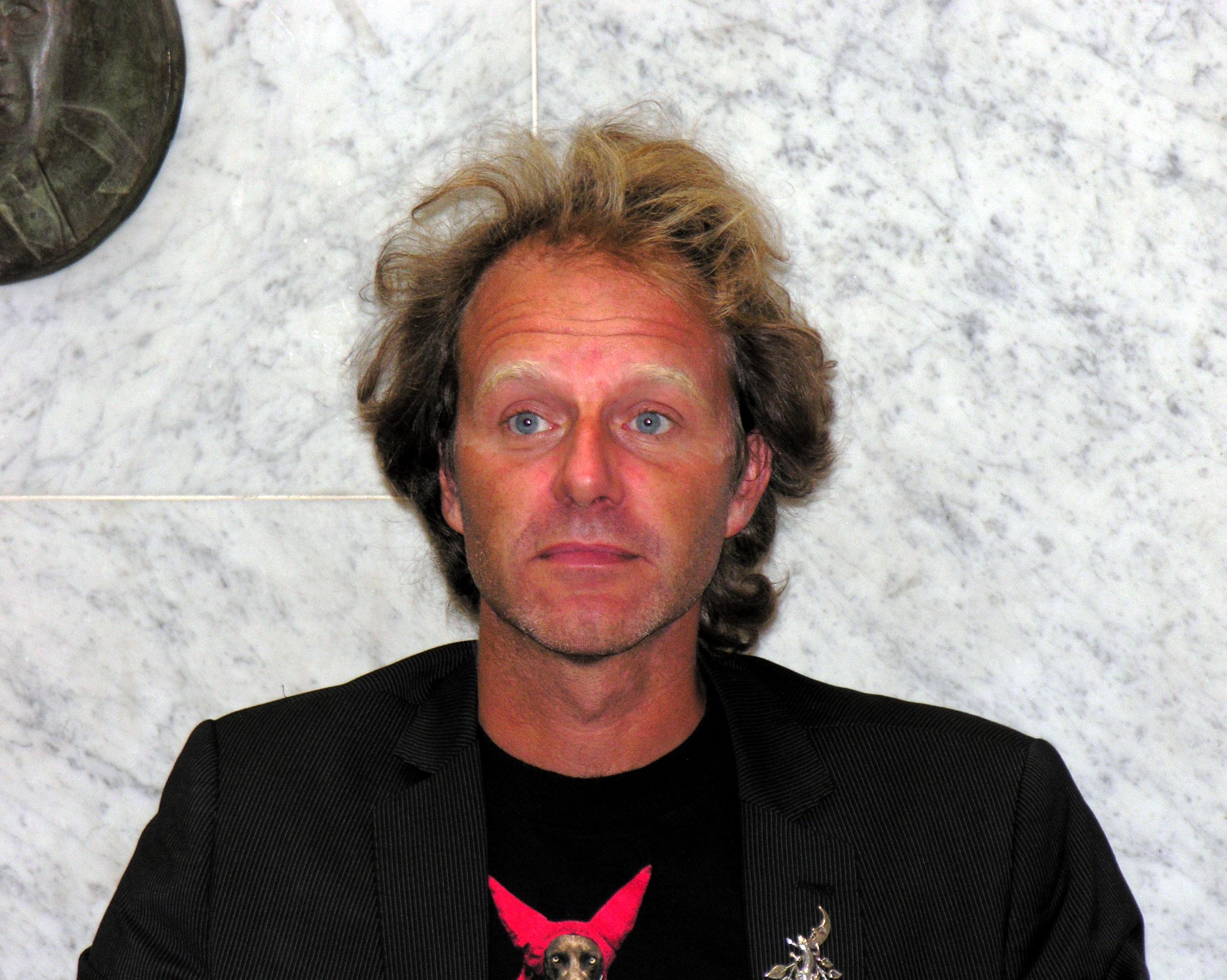Lindqvist in August 2008