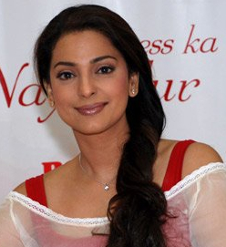 Photograph of Juhi Chawla